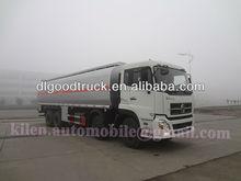 Dongfeng tianlong 35000l 8*4 Öl transportfahrzeug/kraftstoff transport tanker