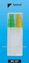 5ml x 2 PP Sanitizer spray pen