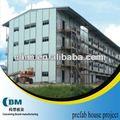 construção site accommadation casa com estrutura de aço da china