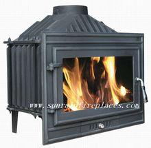 cast iron wood burning insert stove(JA007S)