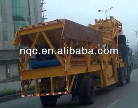 YHZS35 Mobile Concrete Batching Plant (35m3/h)