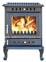 wood stove with back boiler(JA035B)