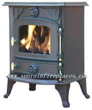 classic wood burning cast iron stove/popular stove/cheap stove in UK(JA013)