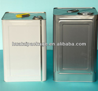 18 liter tin can,square tin can for paint, paint can manufacutrers