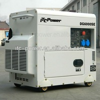 ITCPower DG7500SE 5kW small silent soundproof electric green power generator single cylinder generator silent diesel genset