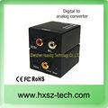 Analógico para digital conversor analógico para digital conversor de tv caixa/conversor analógico para digital