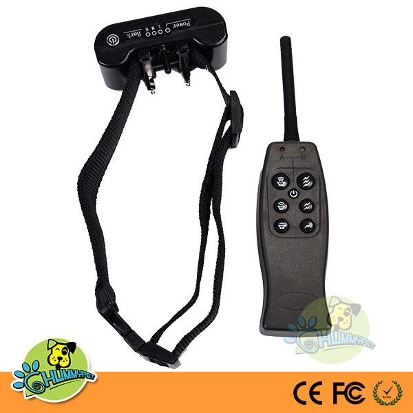 Remote Control Dog Training Collar Shock Electronic Pet Training Collar with No Bark