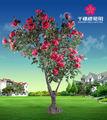 Décorations de noël fleurs artificielles 2.3m décorative fleur artificielle faire