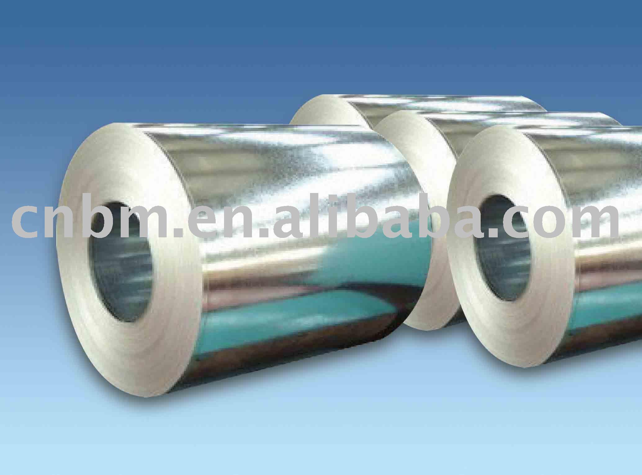 mergulho quente bobina de aço galvanizada com lantejoula regular