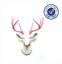 Newest custom skull resin deer head wall decoration