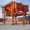 The industrial dust-proof hopper with dust catcher collector for port use