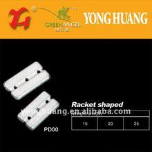 racket shaped lead sinker,lead weight for fishing