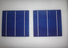 156*156 multicrystalline cheap solar cells 6*6 3.7-4.3w for solar panel