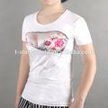 los fabricantes de china 2014 ofrecen ropa de moda para las mujeres de verano de camisetas baratas