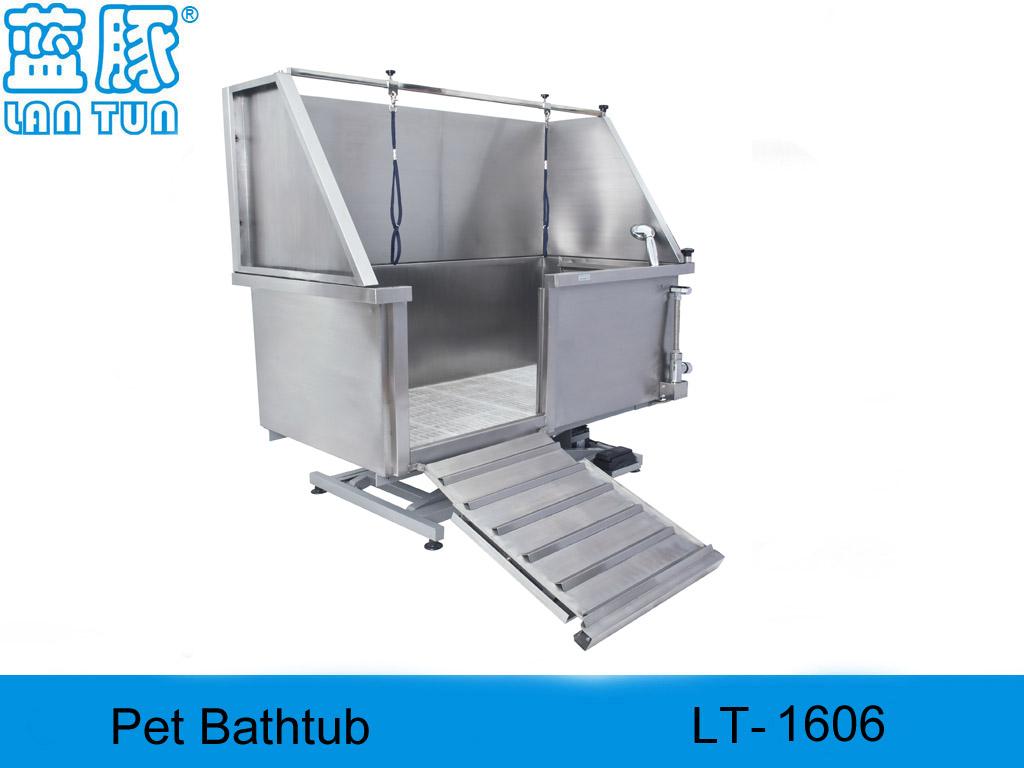 De acero inoxidable baño del animal doméstico, Peluquería canina productos