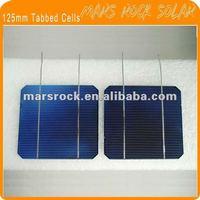5inch Tabbed Mono Crystalline Silicon Solar Cells for DIY Solar Panel