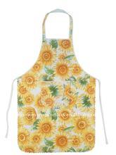 Eco Sun Flower Cotton Apron (pure cotton Cooking Apron)