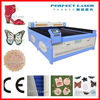 China production 80W / 100W / 120W / 150W Acrylic / fabric / Leather / wood / PVC non-metal CO2 Laser engraver Price 1600*1000mm
