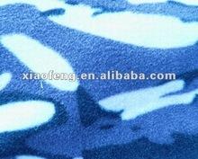 polyester camouflage polar fabric