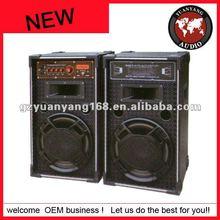 Cheap karaoke speaker 8 inch woofer with built-in amplifier USB SD RC FM bluetooth