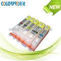 Cartouche d'encre rechargeables pgi-350 cli-351 avec morceau de réinitialisation automatique pour canon pixma ip7230 mg6330 vous pouvez acheter en vrac en provenance de chine