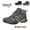 Vibram rubber outsloe waterproof hiking boots tendy ladies trekking shoes
