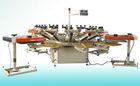 Semi automatic carousel screen printing machine,t shirt screen printer