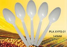 Биоразлагаемый одноразовые пластиковые чайная ложка : XYFS-01