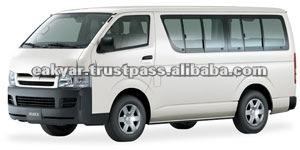 Novo Toyota Hiace Minibus carros japoneses de Dubai
