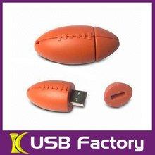Football Pattern USB 2.0 Flash Drive