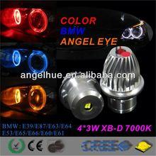 CREE Q5 Chip 2*5W high power led marker, Led Angel Eyes for E92,E39,E60 fog lights