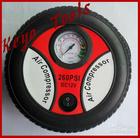 12V portable piston car tyre air compressor