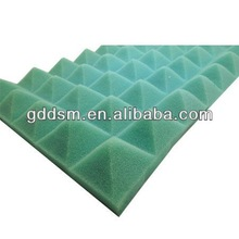 blue acoustic foam soundproof and sound insulation