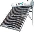 bajo la presión del tubo de vacío solar del calentador de agua