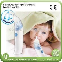 2015 Newest Soft baby care Waterproof baby nasal aspirator