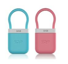 Mini usb 32GB,Waterproof creative usb flash drive,high quality lock shape usb