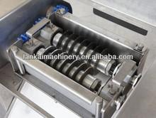 automatic fish meat cutting machine/chicke meat cutter/chicken dicing machine