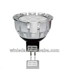 6w dimmable mr16 led spotlight,nichia led