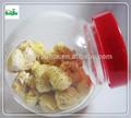 Venda quente de vidro frasco de armazenamento, comida recipiente de armazenamento, jarra de vidro com tampa