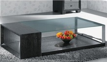 modern american style tempered glass coffee table