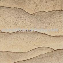 Sandstone Slab Tile Yellow Wooden Wave