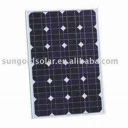 Mono solar panel kit 55w/18v pv panels
