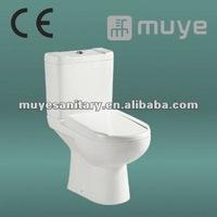 CE Dual-Flush White Ceramic Two Pieces Toilet MY-2510
