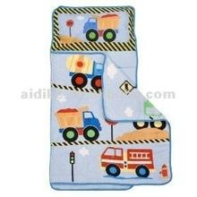 Truckes print Sleeping Bag /Nap Mat /Kids Sleeping bag