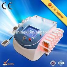 2015 New multifunction laser+cavitation+rf+vacuum slimming machine
