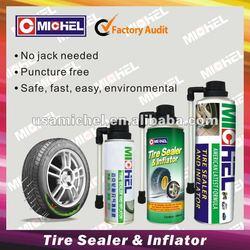 Hot!!!! Michel 120ml,450ml,650ml Tire Sealer and Inflator,Michel Tire Sealant and Inflator