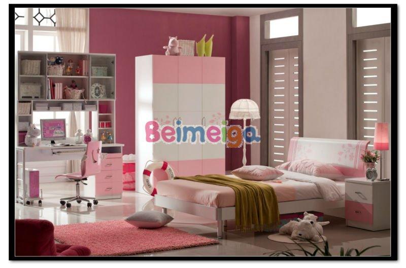 Rosa farbe teenagers schlafzimmer kleiderschrank 632 - 02 ...