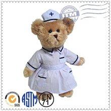 Wholesale china hot selling factory customized plush toy plush nurse bear toy