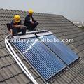 split unter druck solaranlage kollektor boiler