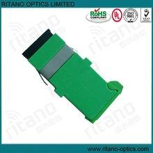 Duplex SM, ceramic sleeve fiber optic adapter,iso adapter